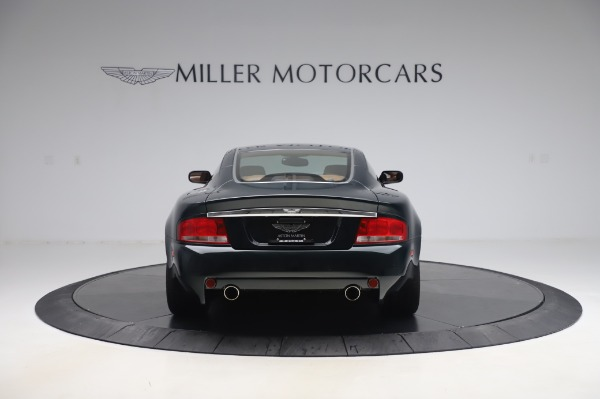 Used 2003 Aston Martin V12 Vanquish Coupe for sale $79,900 at Alfa Romeo of Westport in Westport CT 06880 6