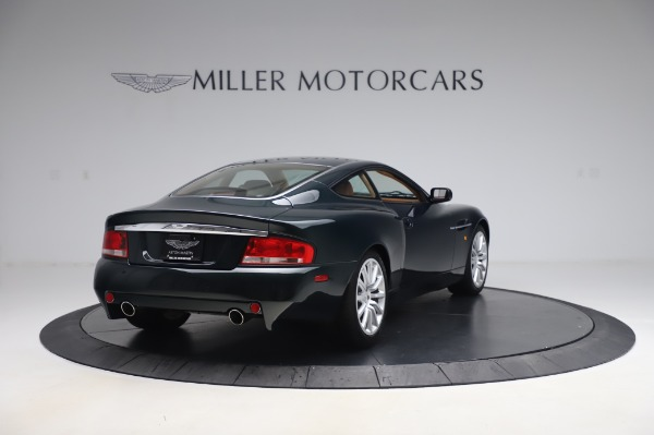 Used 2003 Aston Martin V12 Vanquish Coupe for sale $79,900 at Alfa Romeo of Westport in Westport CT 06880 7