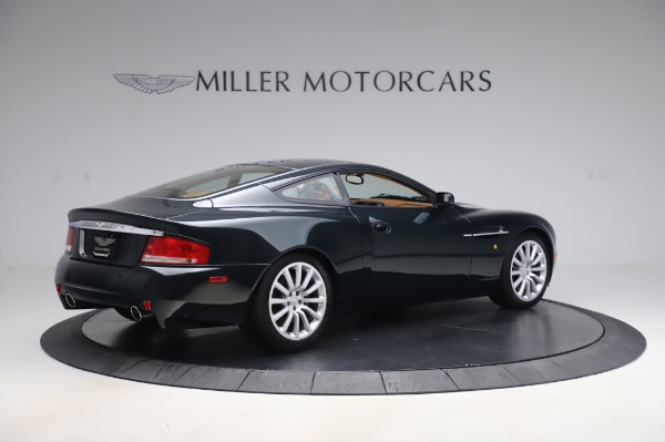 Used 2003 Aston Martin V12 Vanquish Coupe for sale $79,900 at Alfa Romeo of Westport in Westport CT 06880 8