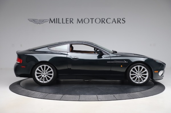 Used 2003 Aston Martin V12 Vanquish Coupe for sale $79,900 at Alfa Romeo of Westport in Westport CT 06880 9