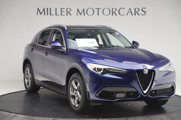 New 2020 Alfa Romeo Stelvio Q4 for sale Sold at Alfa Romeo of Westport in Westport CT 06880 11