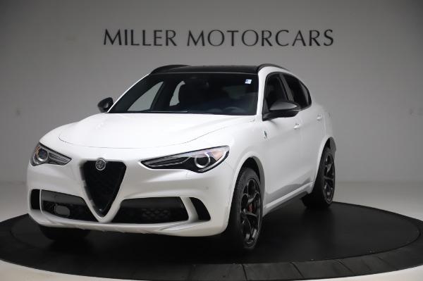 New 2020 Alfa Romeo Stelvio Quadrifoglio for sale $90,945 at Alfa Romeo of Westport in Westport CT 06880 1