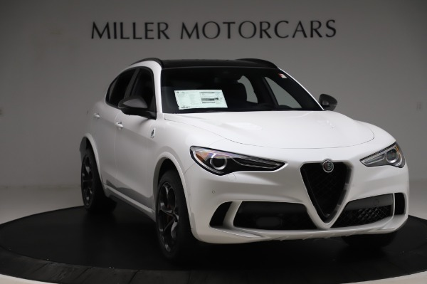 New 2020 Alfa Romeo Stelvio Quadrifoglio for sale Sold at Alfa Romeo of Westport in Westport CT 06880 11
