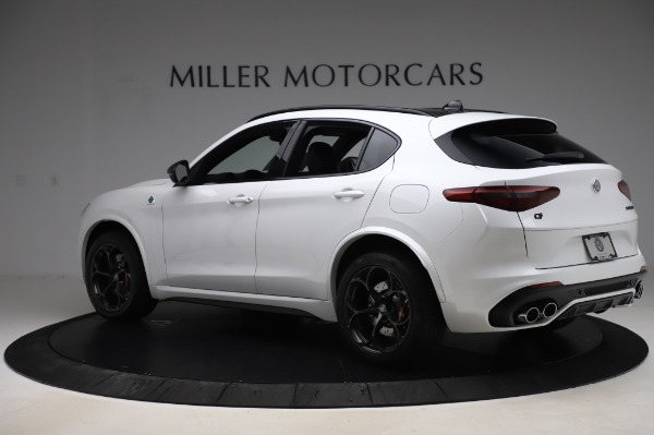 New 2020 Alfa Romeo Stelvio Quadrifoglio for sale Sold at Alfa Romeo of Westport in Westport CT 06880 4