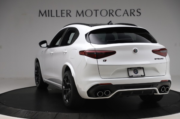 New 2020 Alfa Romeo Stelvio Quadrifoglio for sale Sold at Alfa Romeo of Westport in Westport CT 06880 5