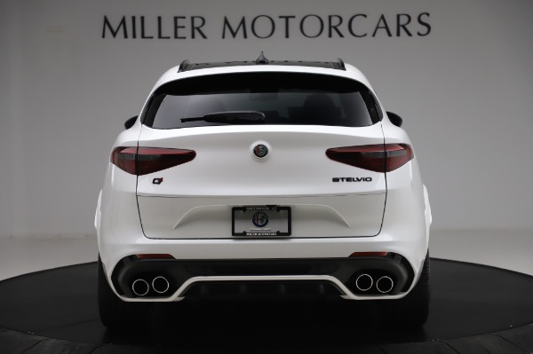 New 2020 Alfa Romeo Stelvio Quadrifoglio for sale Sold at Alfa Romeo of Westport in Westport CT 06880 6