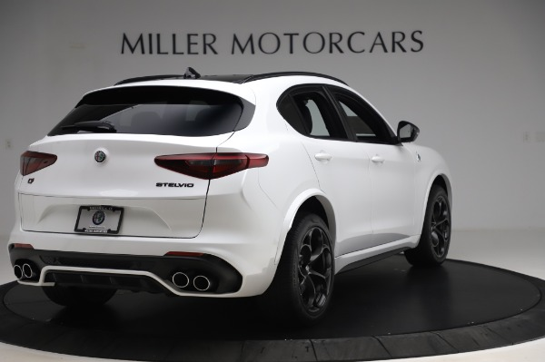 New 2020 Alfa Romeo Stelvio Quadrifoglio for sale Sold at Alfa Romeo of Westport in Westport CT 06880 7