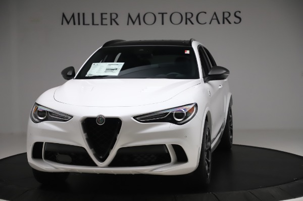 New 2020 Alfa Romeo Stelvio Quadrifoglio for sale Sold at Alfa Romeo of Westport in Westport CT 06880 1