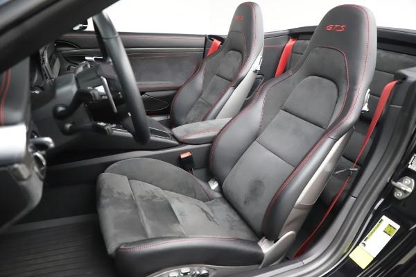 Used 2018 Porsche 911 Carrera 4 GTS for sale Sold at Alfa Romeo of Westport in Westport CT 06880 15