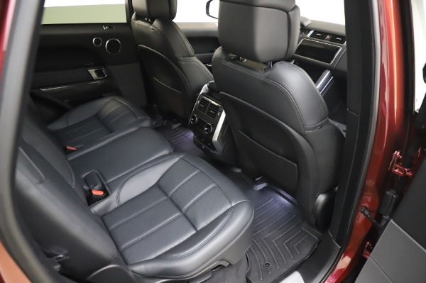 Used 2019 Land Rover Range Rover Sport Autobiography for sale Sold at Alfa Romeo of Westport in Westport CT 06880 23