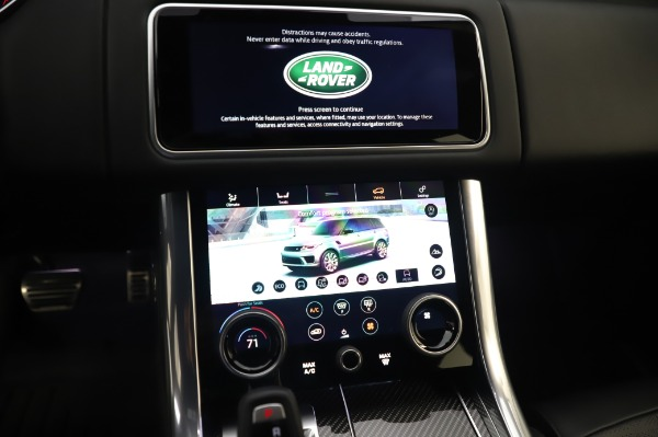 Used 2019 Land Rover Range Rover Sport Autobiography for sale Sold at Alfa Romeo of Westport in Westport CT 06880 27