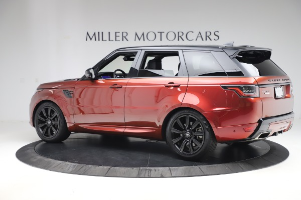 Used 2019 Land Rover Range Rover Sport Autobiography for sale Sold at Alfa Romeo of Westport in Westport CT 06880 4