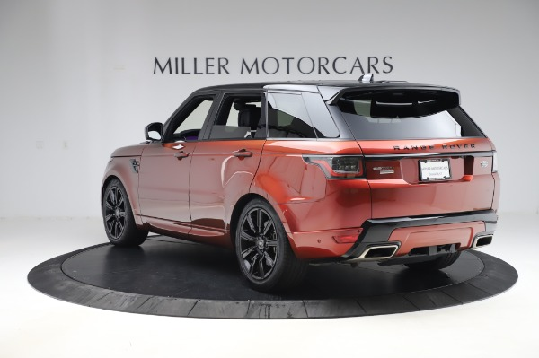 Used 2019 Land Rover Range Rover Sport Autobiography for sale Sold at Alfa Romeo of Westport in Westport CT 06880 5