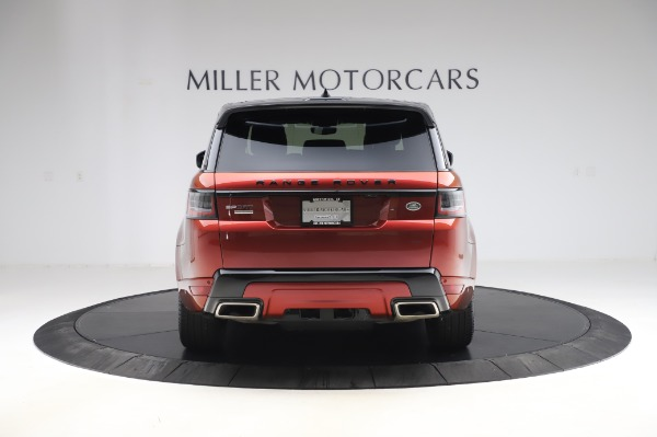 Used 2019 Land Rover Range Rover Sport Autobiography for sale Sold at Alfa Romeo of Westport in Westport CT 06880 6