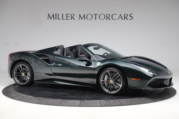 Used 2019 Ferrari 488 Spider Base for sale $329,900 at Alfa Romeo of Westport in Westport CT 06880 10