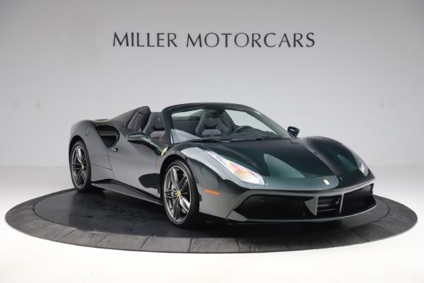 Used 2019 Ferrari 488 Spider Base for sale $329,900 at Alfa Romeo of Westport in Westport CT 06880 11