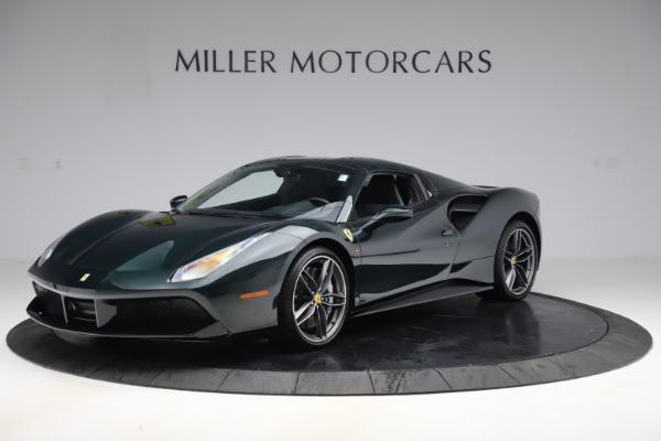 Used 2019 Ferrari 488 Spider Base for sale $329,900 at Alfa Romeo of Westport in Westport CT 06880 13