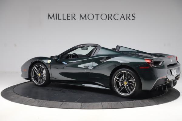 Used 2019 Ferrari 488 Spider Base for sale $329,900 at Alfa Romeo of Westport in Westport CT 06880 4