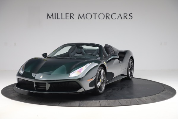Used 2019 Ferrari 488 Spider Base for sale $329,900 at Alfa Romeo of Westport in Westport CT 06880 1