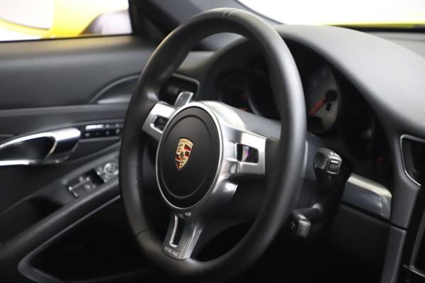 Used 2013 Porsche 911 Carrera 4S for sale Call for price at Alfa Romeo of Westport in Westport CT 06880 23