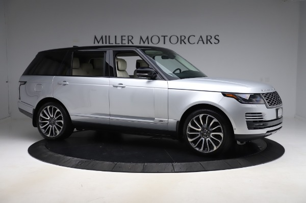 Used 2019 Land Rover Range Rover Supercharged LWB for sale Sold at Alfa Romeo of Westport in Westport CT 06880 10