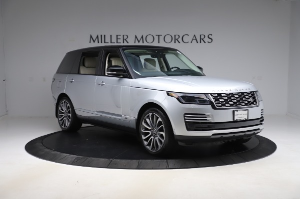 Used 2019 Land Rover Range Rover Supercharged LWB for sale Sold at Alfa Romeo of Westport in Westport CT 06880 11