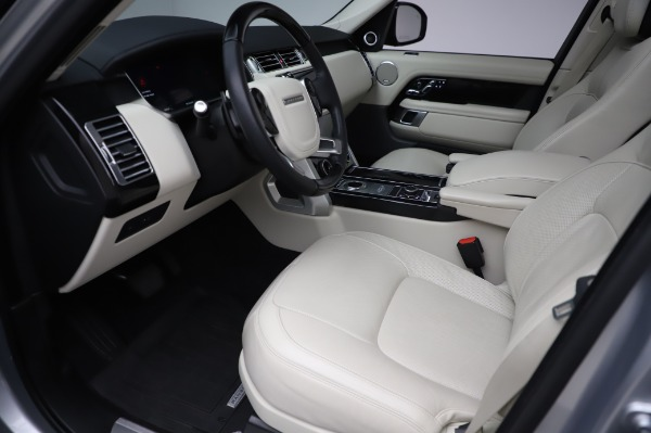 Used 2019 Land Rover Range Rover Supercharged LWB for sale Sold at Alfa Romeo of Westport in Westport CT 06880 13