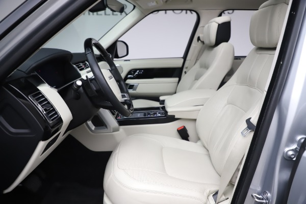 Used 2019 Land Rover Range Rover Supercharged LWB for sale Sold at Alfa Romeo of Westport in Westport CT 06880 14