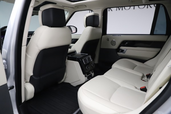 Used 2019 Land Rover Range Rover Supercharged LWB for sale Sold at Alfa Romeo of Westport in Westport CT 06880 16