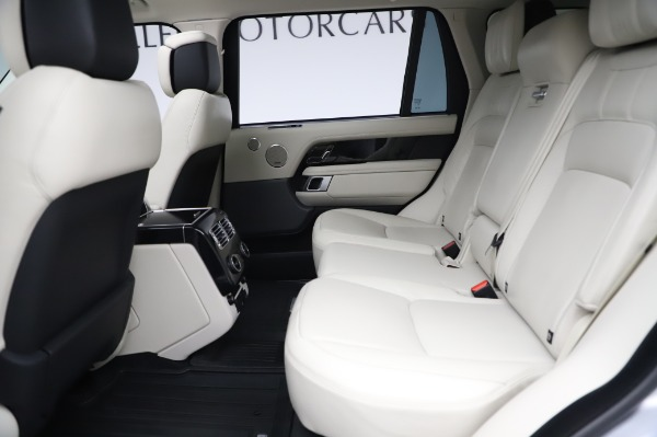 Used 2019 Land Rover Range Rover Supercharged LWB for sale Sold at Alfa Romeo of Westport in Westport CT 06880 17