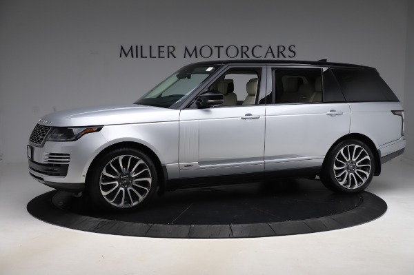 Used 2019 Land Rover Range Rover Supercharged LWB for sale Sold at Alfa Romeo of Westport in Westport CT 06880 2