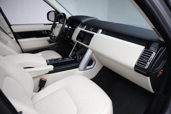 Used 2019 Land Rover Range Rover Supercharged LWB for sale Sold at Alfa Romeo of Westport in Westport CT 06880 20