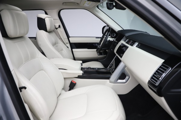 Used 2019 Land Rover Range Rover Supercharged LWB for sale Sold at Alfa Romeo of Westport in Westport CT 06880 21