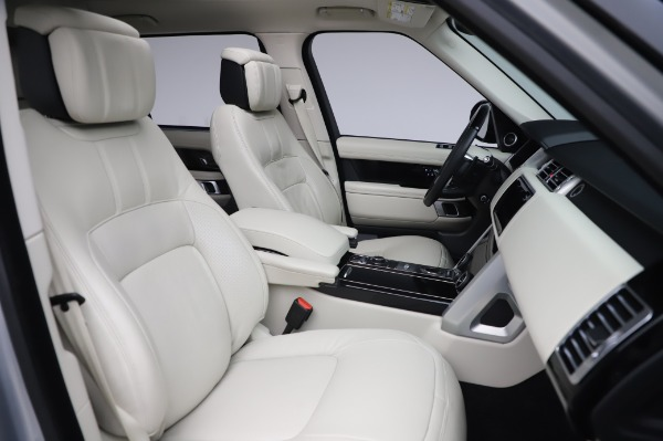 Used 2019 Land Rover Range Rover Supercharged LWB for sale Sold at Alfa Romeo of Westport in Westport CT 06880 22