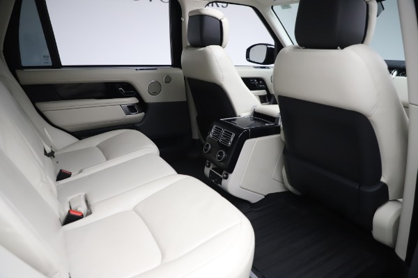 Used 2019 Land Rover Range Rover Supercharged LWB for sale Sold at Alfa Romeo of Westport in Westport CT 06880 23