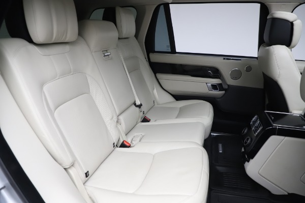 Used 2019 Land Rover Range Rover Supercharged LWB for sale Sold at Alfa Romeo of Westport in Westport CT 06880 24