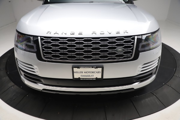 Used 2019 Land Rover Range Rover Supercharged LWB for sale Sold at Alfa Romeo of Westport in Westport CT 06880 26