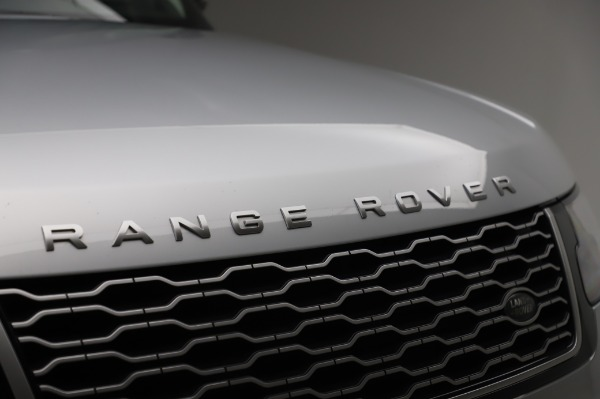 Used 2019 Land Rover Range Rover Supercharged LWB for sale Sold at Alfa Romeo of Westport in Westport CT 06880 27