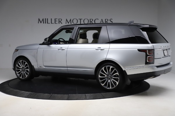Used 2019 Land Rover Range Rover Supercharged LWB for sale Sold at Alfa Romeo of Westport in Westport CT 06880 4