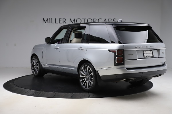 Used 2019 Land Rover Range Rover Supercharged LWB for sale Sold at Alfa Romeo of Westport in Westport CT 06880 5