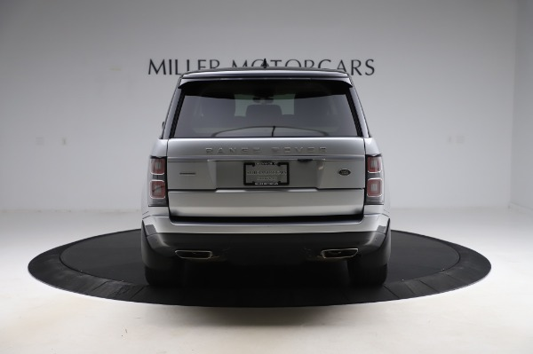 Used 2019 Land Rover Range Rover Supercharged LWB for sale Sold at Alfa Romeo of Westport in Westport CT 06880 6