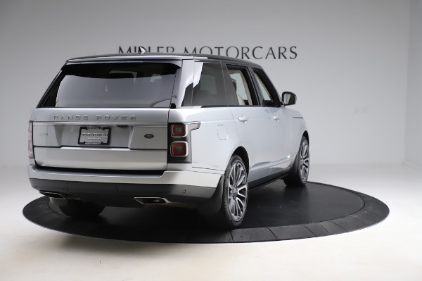Used 2019 Land Rover Range Rover Supercharged LWB for sale Sold at Alfa Romeo of Westport in Westport CT 06880 7