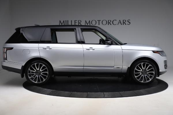 Used 2019 Land Rover Range Rover Supercharged LWB for sale Sold at Alfa Romeo of Westport in Westport CT 06880 9