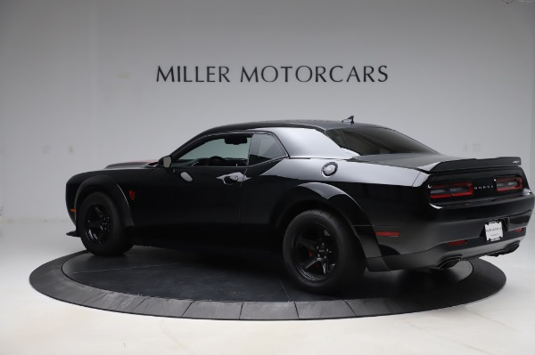 Used 2018 Dodge Challenger SRT Demon for sale Sold at Alfa Romeo of Westport in Westport CT 06880 4