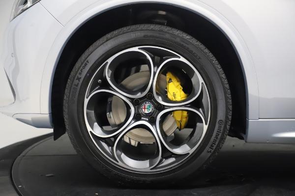 New 2020 Alfa Romeo Stelvio Ti Lusso Q4 for sale Sold at Alfa Romeo of Westport in Westport CT 06880 14