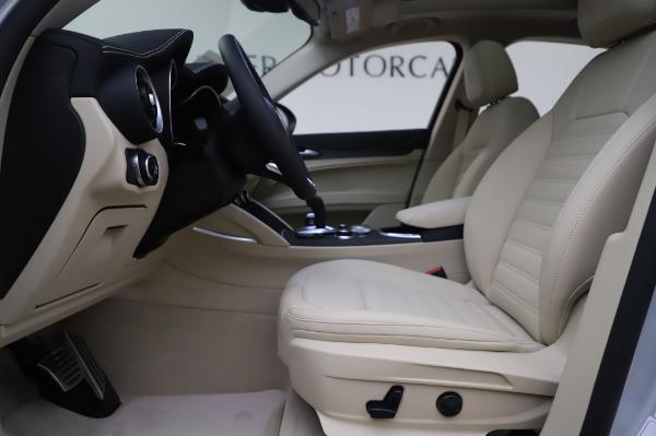 New 2020 Alfa Romeo Stelvio Ti Lusso Q4 for sale Sold at Alfa Romeo of Westport in Westport CT 06880 16