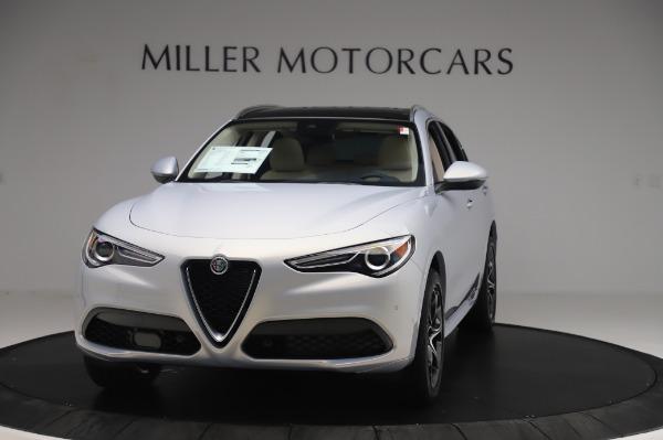 New 2020 Alfa Romeo Stelvio Ti Lusso Q4 for sale Sold at Alfa Romeo of Westport in Westport CT 06880 1