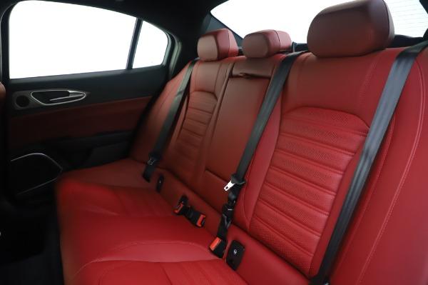 New 2020 Alfa Romeo Giulia Ti Sport Q4 for sale $46,495 at Alfa Romeo of Westport in Westport CT 06880 18