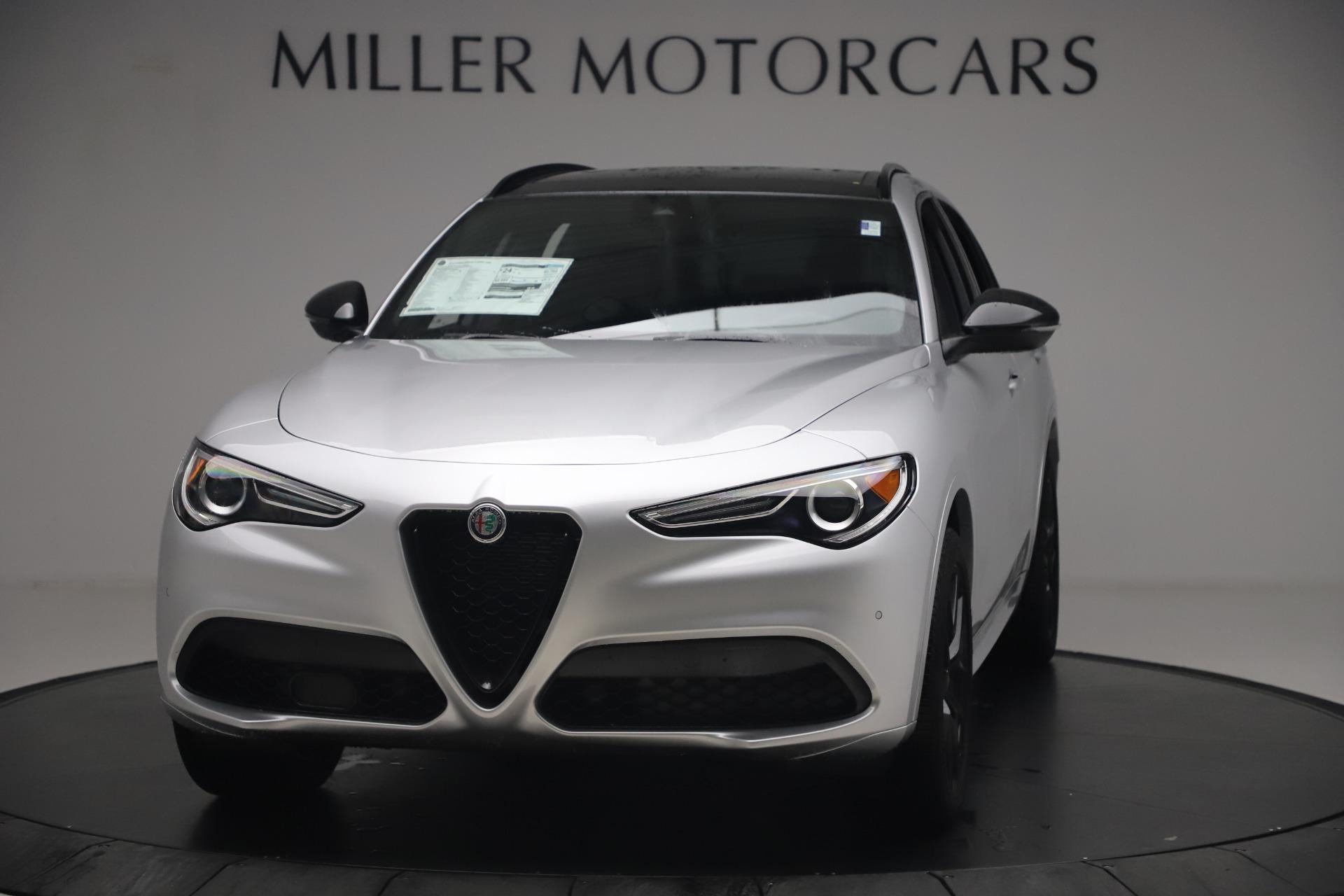 New 2020 Alfa Romeo Stelvio Ti Sport Q4 for sale $54,795 at Alfa Romeo of Westport in Westport CT 06880 1
