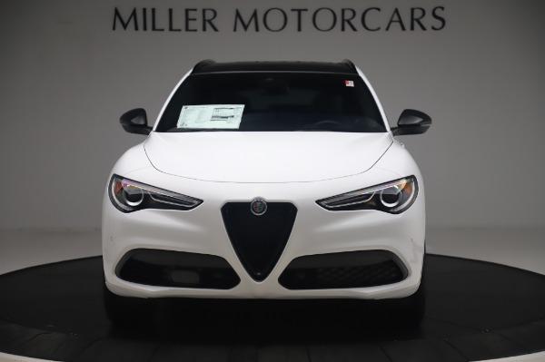 New 2020 Alfa Romeo Stelvio Ti Sport Q4 for sale $56,495 at Alfa Romeo of Westport in Westport CT 06880 12